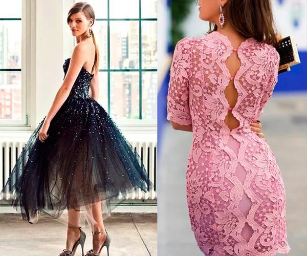 Необычное красивое выпускное платье