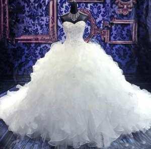 Бальное свадебное платье  Фото и советы: Как стать самой красивой!