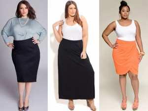 Как подобрать юбку полным девушкам Фото и советы: Как стать самой красивой!