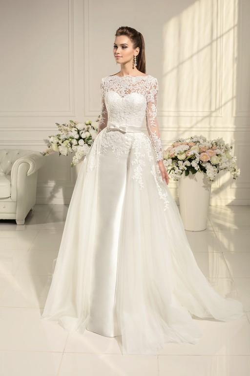 Свадебное платье ниагара