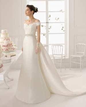 Прямое свадебное платье  Фото и советы: Как стать самой красивой!