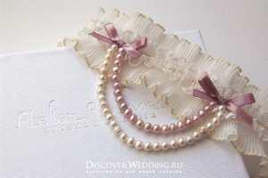 Свадебная подвязка Фото и советы: Как стать самой красивой!