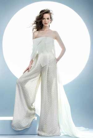 Свадебный костюм или комбинезон Фото и советы: Как стать самой красивой!