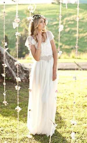"""Свадебное платье в стиле """"Бохо-шик"""" Фото и советы: Как стать самой красивой!"""