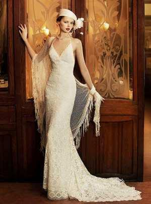 """Свадебное платье в стиле """"Гэтсби"""" Фото и советы: Как стать самой красивой!"""