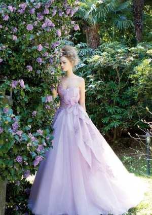 Свадебное платье с эффектом омбре Фото и советы: Как стать самой красивой!