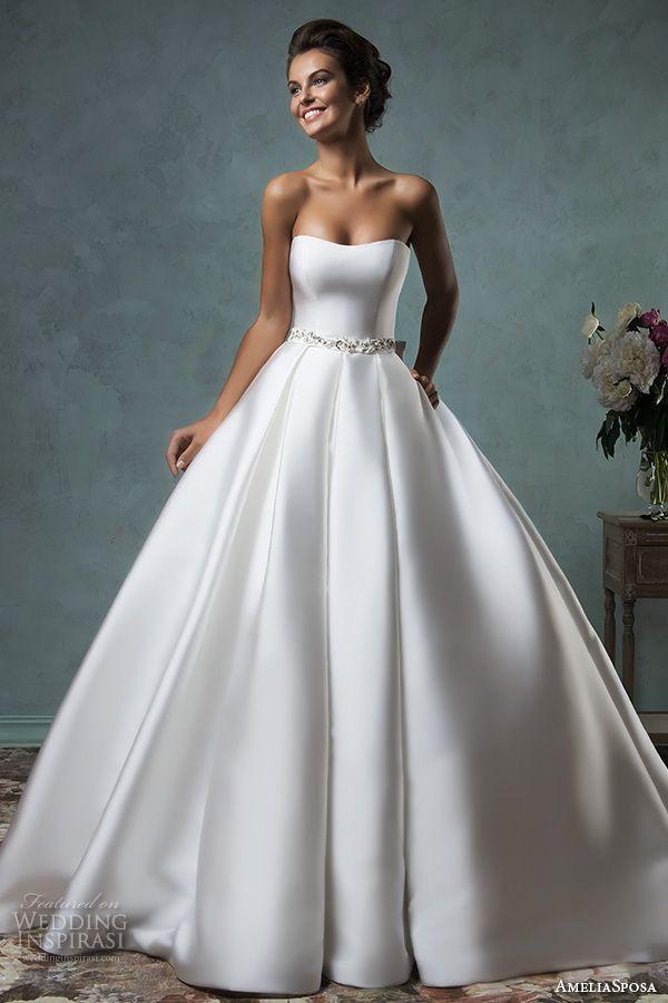 21f5fece4c169f2 Свадебное платье силуэта Принцесса +ФОТО (Свадебные и вечерние ...