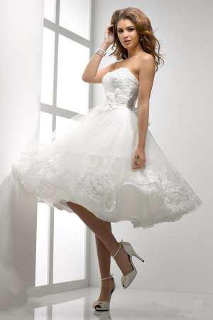 """Свадебное платье в стиле """"Стиляги"""" Фото и советы: Как стать самой красивой!"""